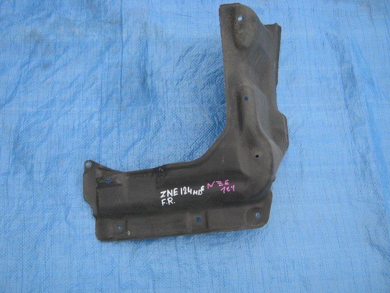 Защита двигателя Toyota Corolla NZE121 1NZ-FE 2003 передняя правая
