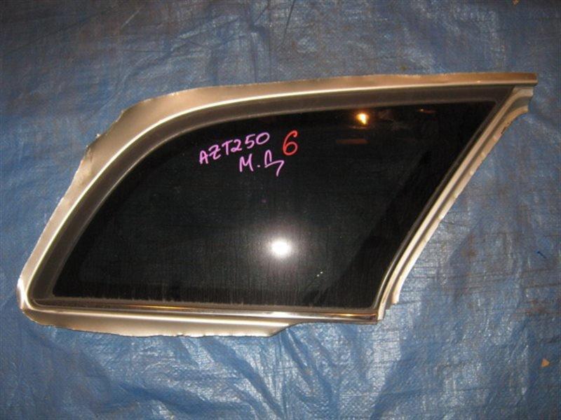 Стекло собачника Toyota Avensis AZT250 2007 заднее правое
