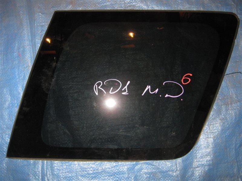Стекло собачника Honda Cr-V RD1 заднее правое