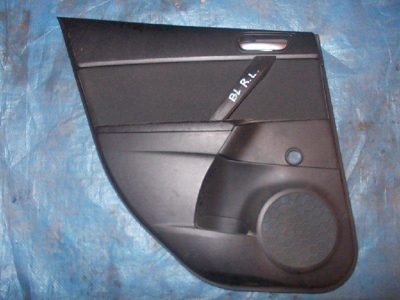 Обшивка двери Mazda Mazda 3 BL5 Z6 2009 задняя левая