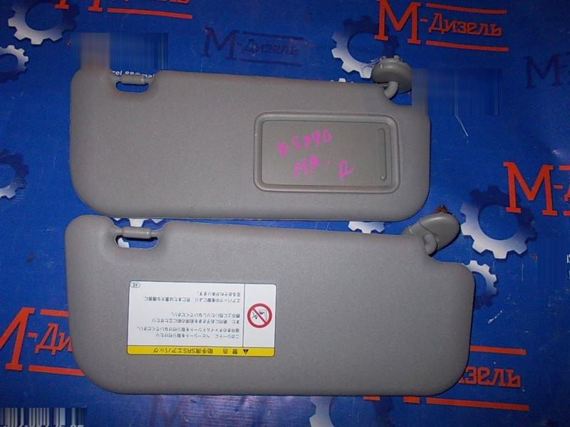 Козырек Toyota Vitz KSP90 1KR-FE 2009