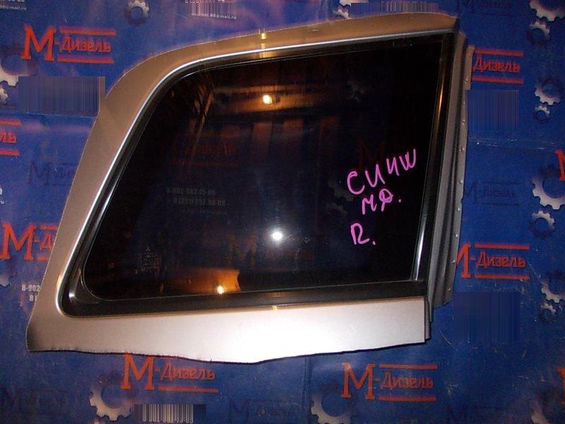 Стекло собачника Mitsubishi Airtrek CU4W 4G64 2003 заднее правое