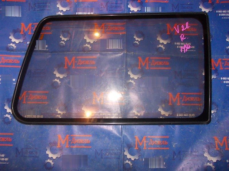 Стекло собачника Mitsubishi Pajero V26W 4D56T 1993 заднее правое
