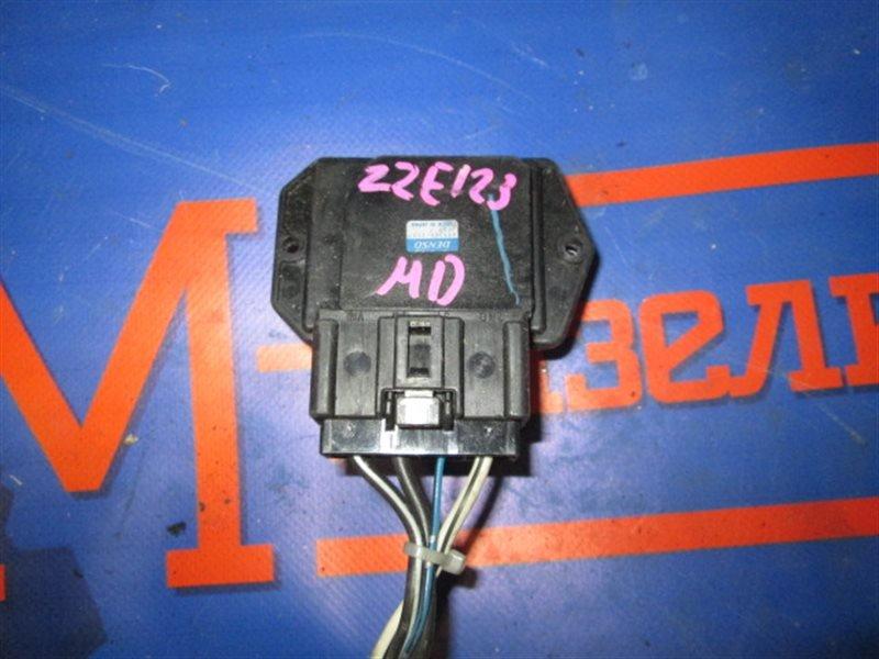 Реостат Toyota Allex ZZE123 2ZZ-GE 2003