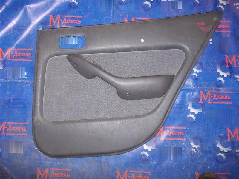 Обшивка двери Toyota Camry SV30 4S-FE 1992 задняя правая
