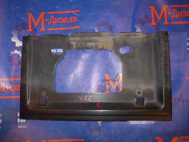 Рамка под номер Mitsubishi Pajero V26W 1993 задняя
