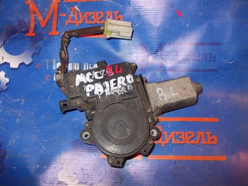Мотор стеклоподъемника Mitsubishi Pajero V24W 1993 задний левый