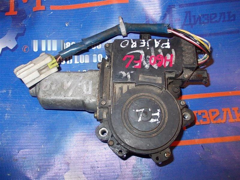 Мотор стеклоподъемника Mitsubishi Pajero V24W 1993 передний левый
