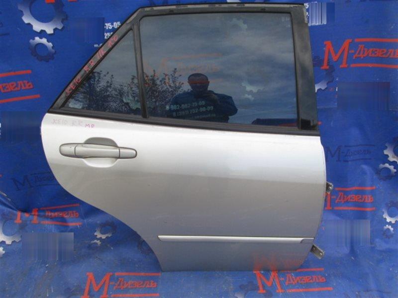 Дверь боковая Toyota Altezza Gita JCE10 2JZ-GE 2001 задняя правая