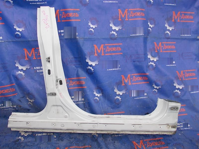 Стойка кузова средняя Mitsubishi Outlander Xl CW5W 4B12 2008 правая