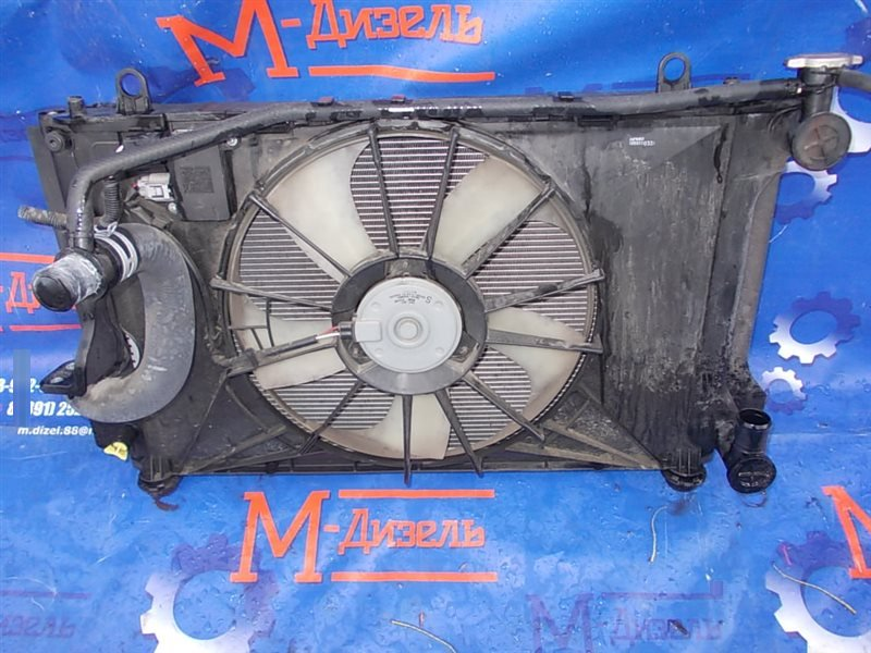 Радиатор двигателя Toyota Corolla Fielder NZE141 1NZ-FE 2008