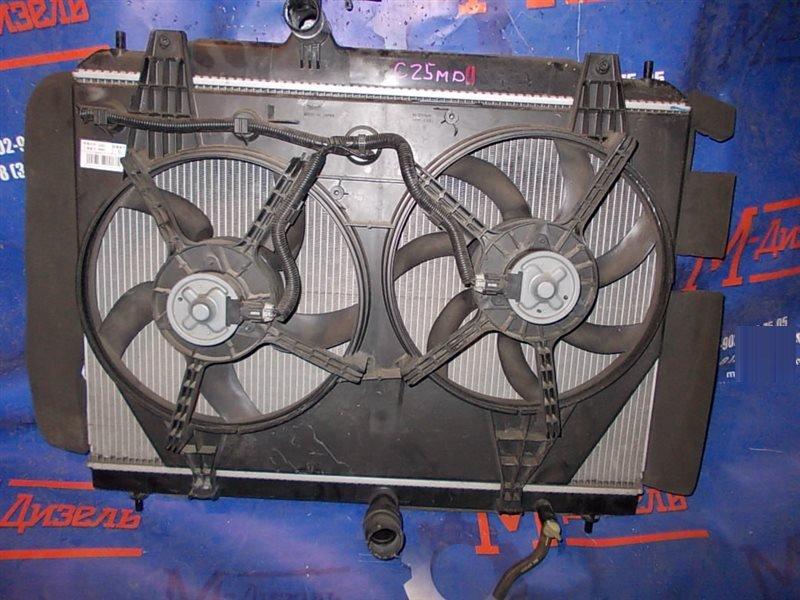 Радиатор двигателя Nissan Serena C25 MR20DE 2009