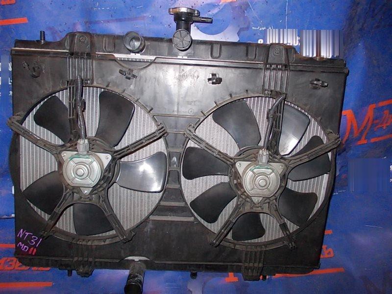 Радиатор двигателя Nissan X-Trail NT31 MR20DE 2007