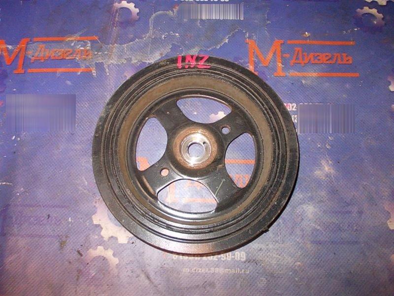 Шкив коленвала Toyota Corolla Fielder NZE141 1NZ-FE 2006
