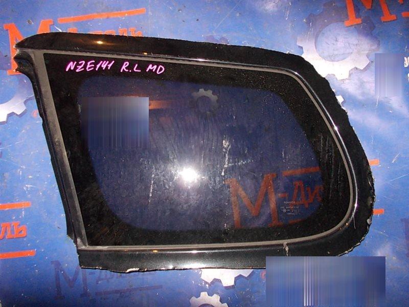 Стекло собачника Toyota Corolla Fielder NZE141 1NZ-FE 2008 заднее левое