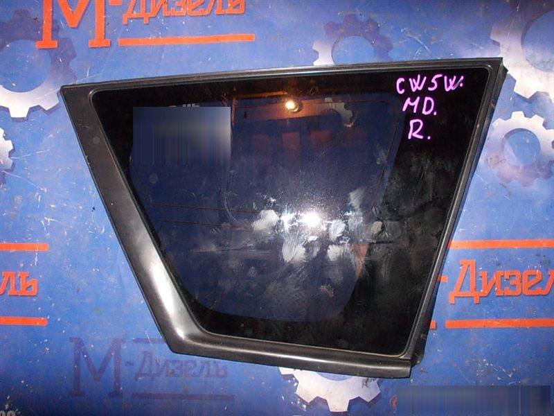 Стекло собачника Mitsubishi Outlander Xl CW5W 4B12 2008 заднее правое