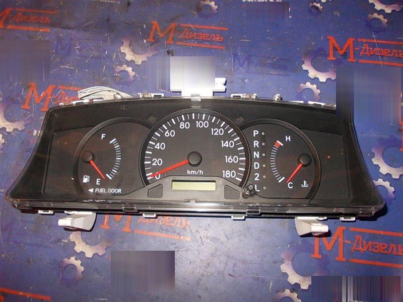 Панель приборов Toyota Corolla NZE121 1NZ-FE 2001