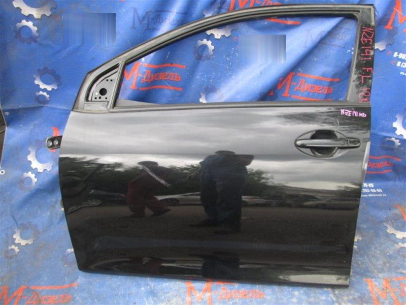 Дверь боковая Toyota Corolla Fielder NZE141 2008 передняя левая