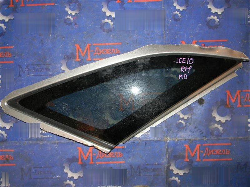 Стекло собачника Toyota Altezza Gita JCE10W 2JZ-GE 2002 заднее правое