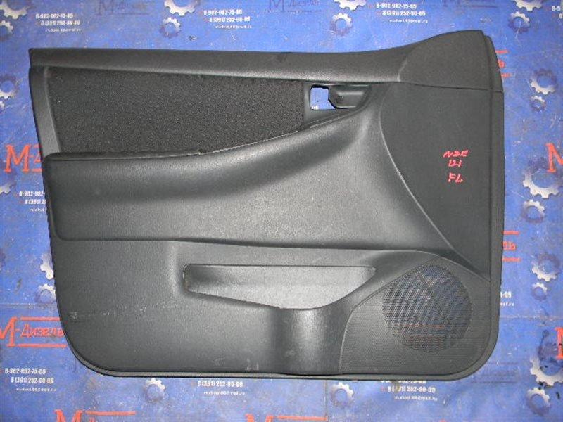 Обшивка двери Toyota Corolla Fielder NZE121 1NZ-FE 2003 передняя левая