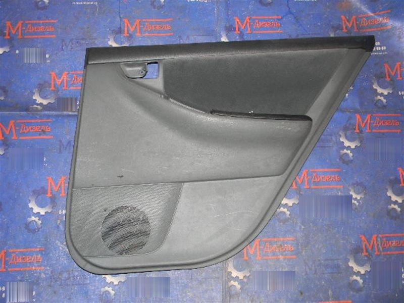 Обшивка двери Toyota Corolla NZE121 1NZ-FE 2001 задняя правая