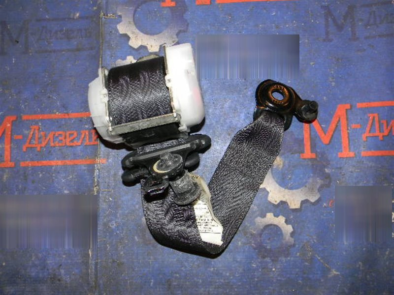 Ремень безопасности Toyota Vitz KSP90 1KR-FE 2009 задний левый
