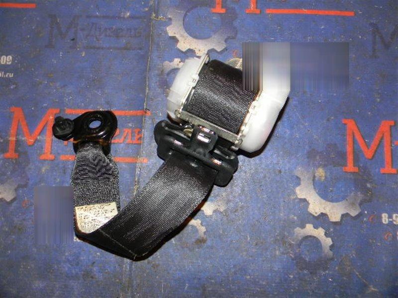 Ремень безопасности Toyota Vitz KSP90 1KR-FE 2009 задний правый
