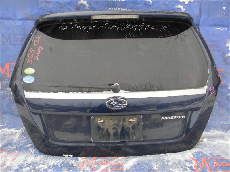 Дверь 5я Subaru Forester SG5 EJ20 2005