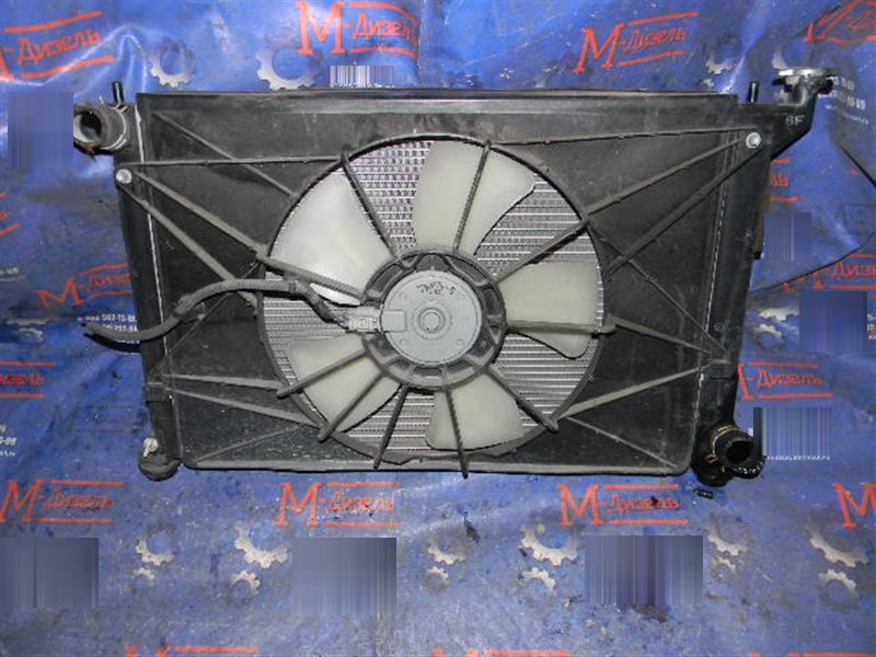 Радиатор двигателя Toyota Wish ZNE10G 1ZZ-FE 2006