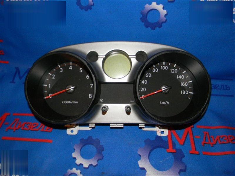 Панель приборов Nissan Qashqai J10 MR20DE 2007