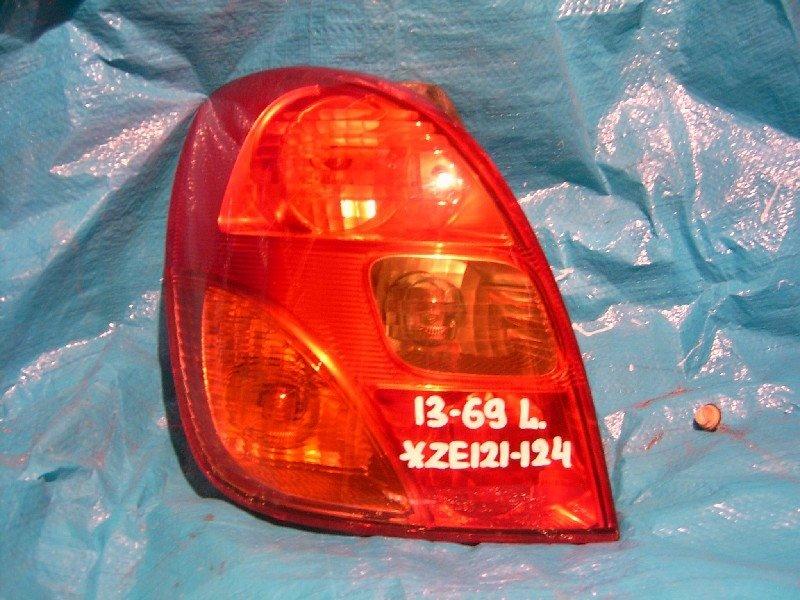 Стоп-сигнал Toyota Corolla Spacio NZE121N 1NZ-FE задний левый