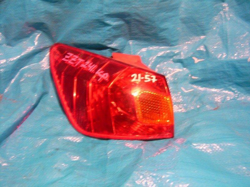 Стоп-сигнал Toyota Caldina ZZT241W 1ZZ-FE задний левый