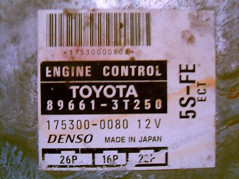 Блок управления двс Toyota Camry Gracia SXV20V 5S-FE