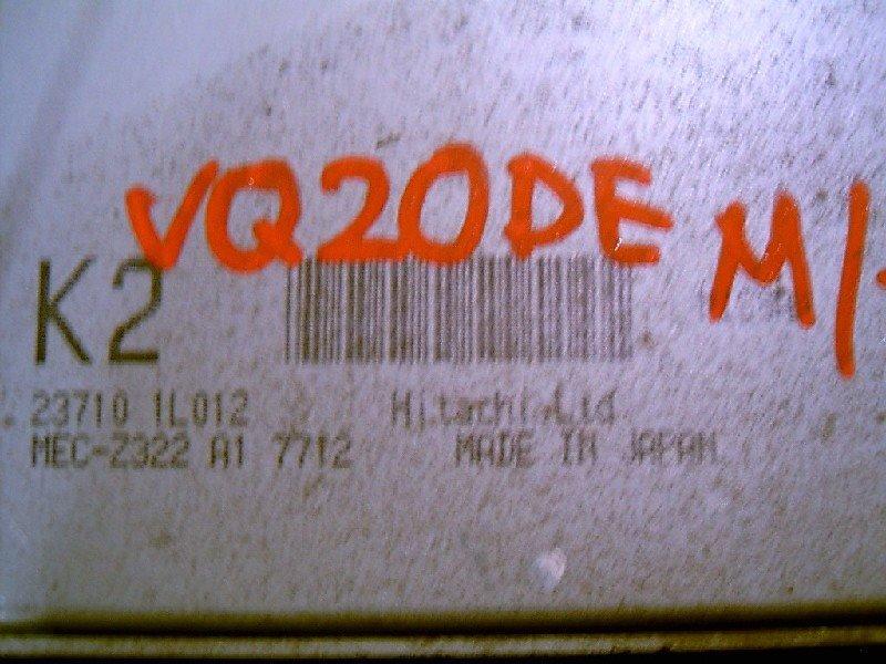 Блок управления двс Nissan Cefiro VQ20-DE 2000