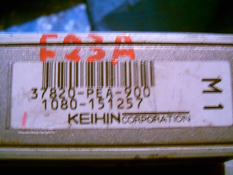 Блок управления двс Honda Odyssey F23A