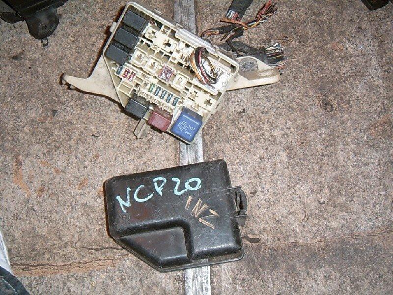 Блок предохранителей Toyota Funcargo NCP20 2NZ-FE