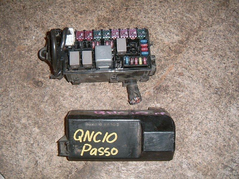 Блок предохранителей Toyota Passo QNC10 K3-VE 2005