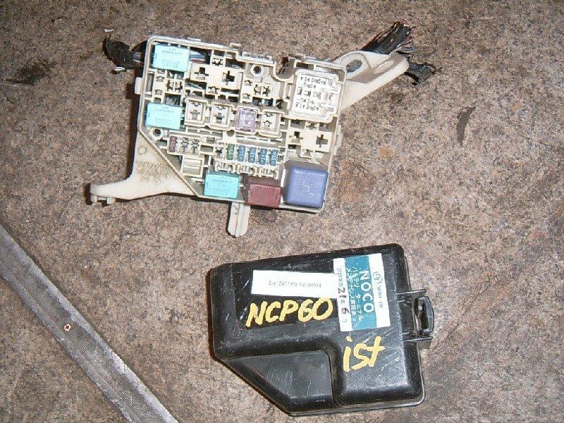 Блок предохранителей Toyota Ist NCP60 2NZ-FE