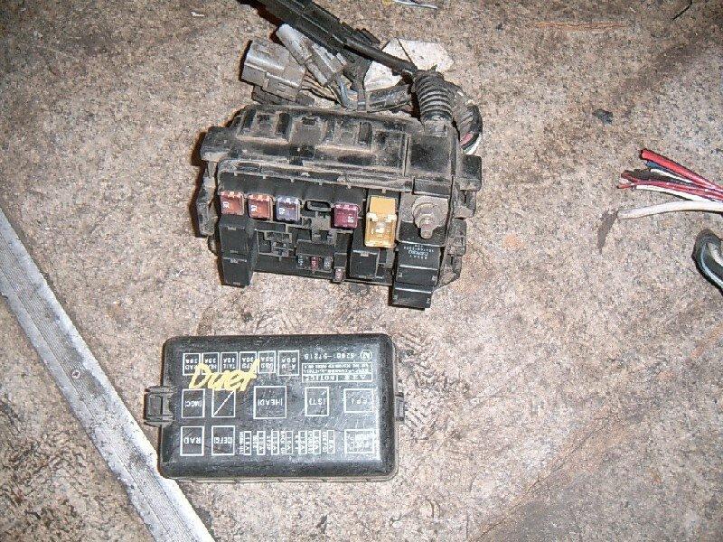Блок предохранителей Toyota Duet M100A K3-VE