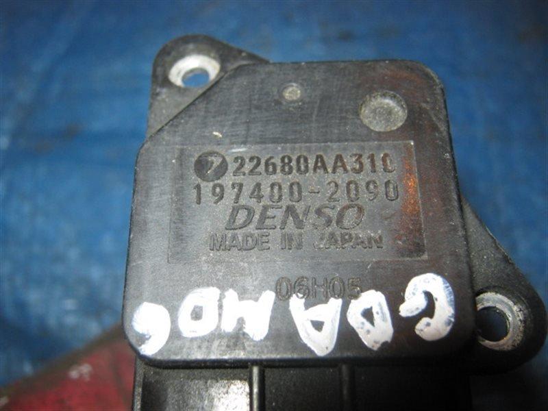 Расходомер воздушный Subaru EJ20