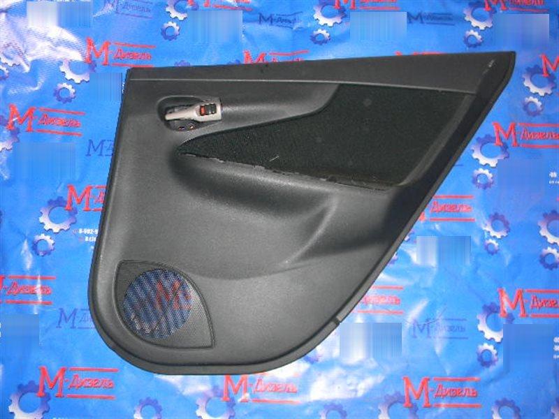 Обшивка двери Toyota Corolla Fielder NZE141 1NZ-FE 2008 задняя правая