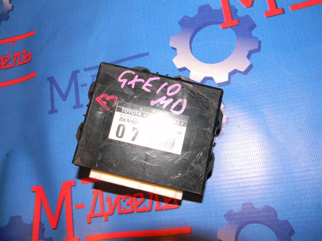 Блок управления Toyota Altezza GXE10 1G-FE 2004