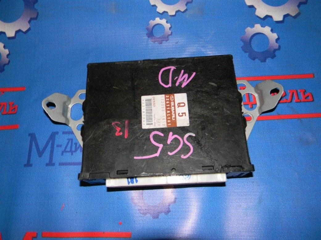 Блок управления двс Subaru Forester SG5 EJ20 2005
