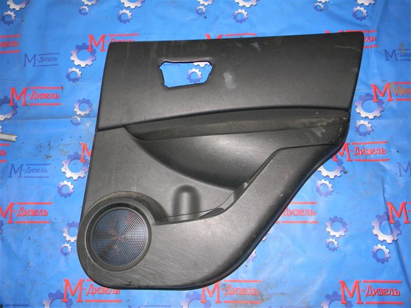 Обшивка двери Nissan Qashqai J10 MR20DE 2008 задняя правая