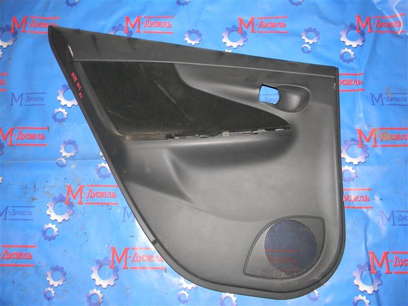 Обшивка двери Toyota Corolla Fielder NZE141 1NZ-FE 2008 задняя левая