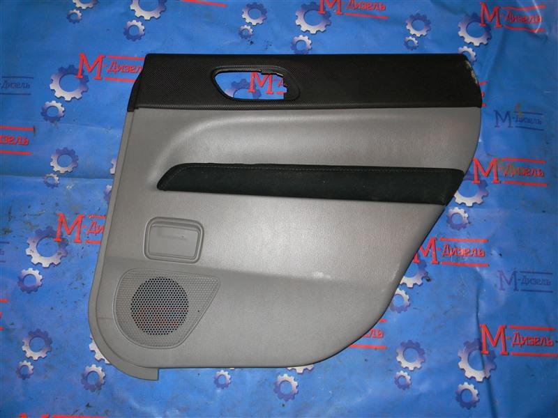 Обшивка двери Subaru Forester SG5 EJ20-T 2006 задняя правая