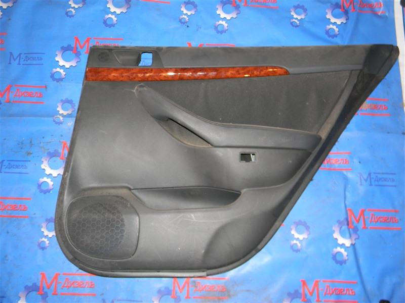 Обшивка двери Toyota Avensis AZT250 1AZ-FSE 2006 задняя правая