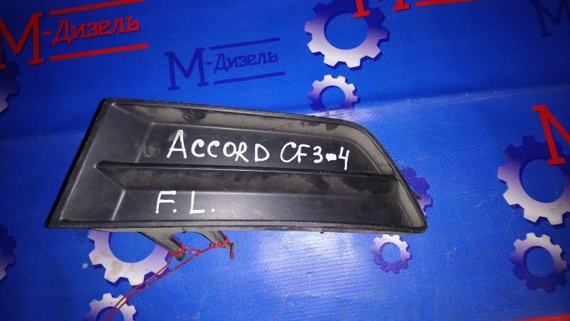 Заглушка бампера Honda Accord CF3 F18B 1999 передняя левая