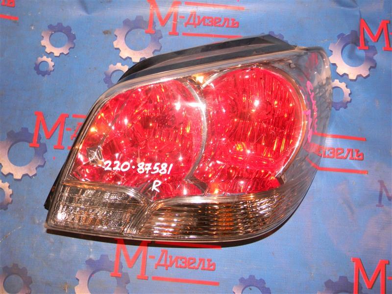 Стоп-сигнал Mitsubishi Airtrek CU4W 4G64 2003 задний правый