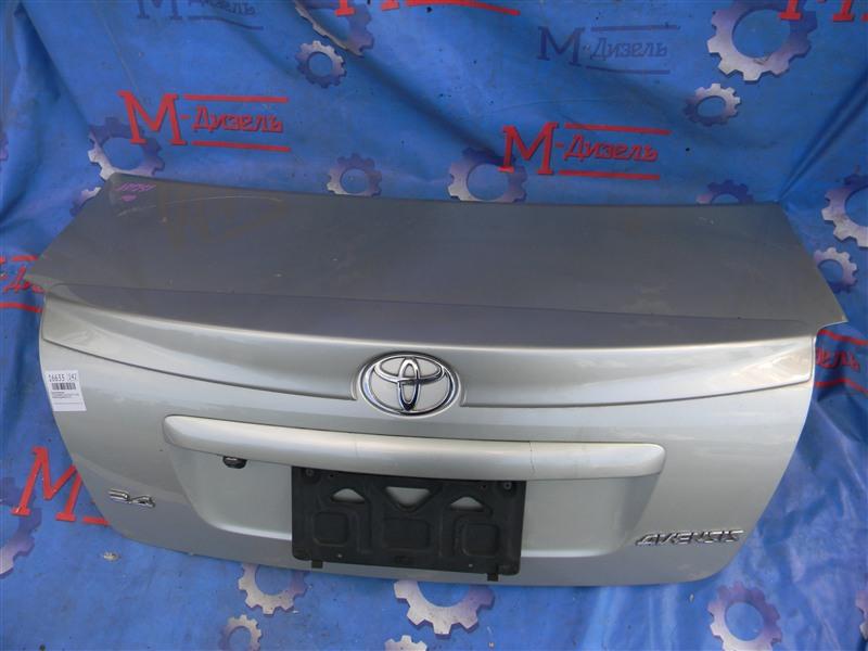 Крышка багажника Toyota Avensis AZT251 2AZ-FSE 2006